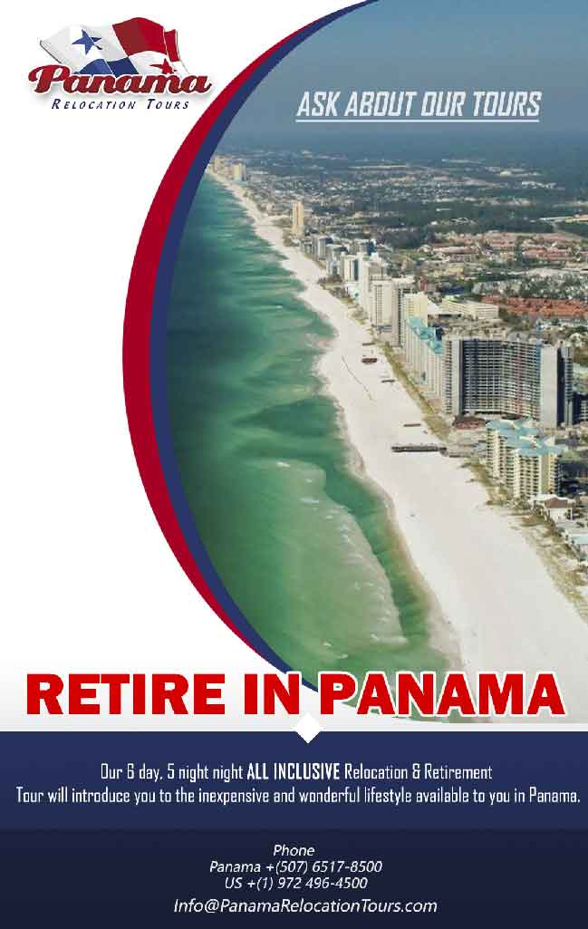Panama Relocation Tours logo, Retire in Panama